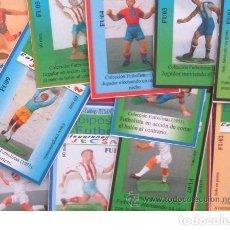 Figuras de Goma y PVC: FICHA CROMOS DE LA SERIE DE FUTBOL DE JECSAN. ESPECIAL COLECCIONISTAS. REAMSA. Lote 263677430