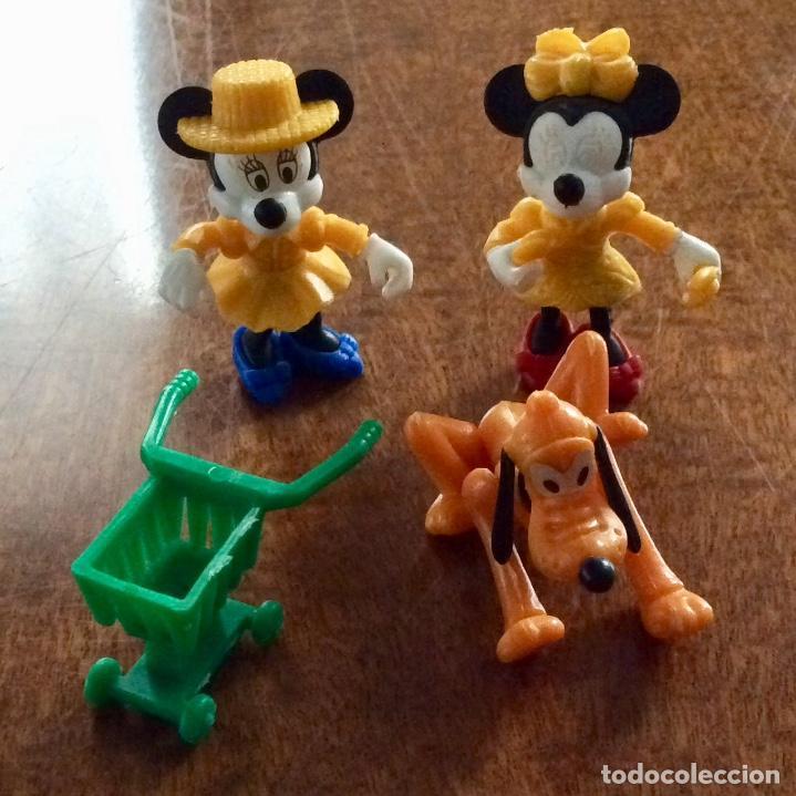 Figuras Kinder: Envío 6€. 3 figuras Disney y un carrito de la compra de 5cm cada una - Foto 2 - 125061571