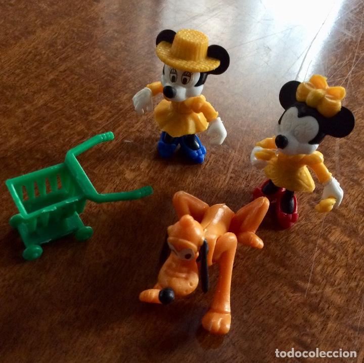 Figuras Kinder: Envío 6€. 3 figuras Disney y un carrito de la compra de 5cm cada una - Foto 3 - 125061571