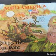 Rubber and PVC Figures - MONTAPLEX 111 GRUPO DE COMBATE NORTEAMERICA - SOBRE CERRADO - 127238626