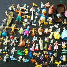 Figuras de Goma y PVC: LOTE 83 FIGURAS PVC DISNEY BULLYLAND MICKEY RATÓN PRINCESAS NESTLÉ KINDER DIBUJOS ANIMADOS. Lote 125168695