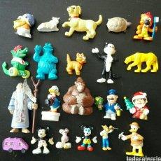 Figuras de Goma y PVC: LOTE 21 FIGURAS PVC SCHLEICH BULLYLAND TÍO GILITO TARZÁN GORILA BARRIO SÉSAMO MICKEY DISNEY. Lote 125170326