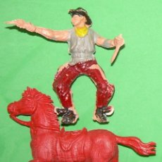 Figuras de Goma y PVC: FIGURAS Y SOLDADITOS DE 6 CTMS --5654. Lote 125180675