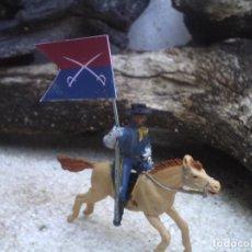 Figuras de Goma y PVC: SOLDADO DE LA BATALLA DEL LITTLER BIG HORN. Lote 125198083