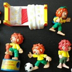 Figuras de Goma y PVC: LOTE 9 FIGURAS PVC BULLYLAND HEIMO PUMUCKI PUMUCKY PUMUKY PUMUKI GNOMO DUENDE MCDONALD'S MCDONALDS. Lote 125205156