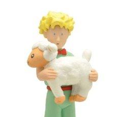 Figuras de Goma y PVC: FIGURA EL PRINCIPITO CON OVEJA (PLASTOY). Lote 125243164