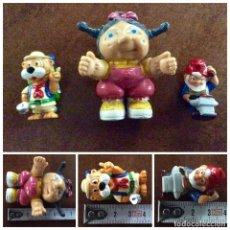 Figuras de Goma y PVC: ENVÍO 4€. 3 MUÑEQUITOS PVC DIFERENTES MARCAS Y TAMAÑOS. Lote 125306615