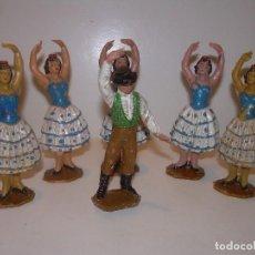 Figuras de Goma y PVC: ANTIGUA FIGURAS...TOTAL. 6. Lote 125327663