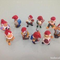 Figuras Kinder: KINDER,ENANOS, GNOMOS, LOTE DE 10 FIGURAS, BIEN CONSERVADAS. Lote 125743323