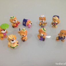 Figuras Kinder: KINDER,LEONES , 9 FIGURAS. Lote 125749687