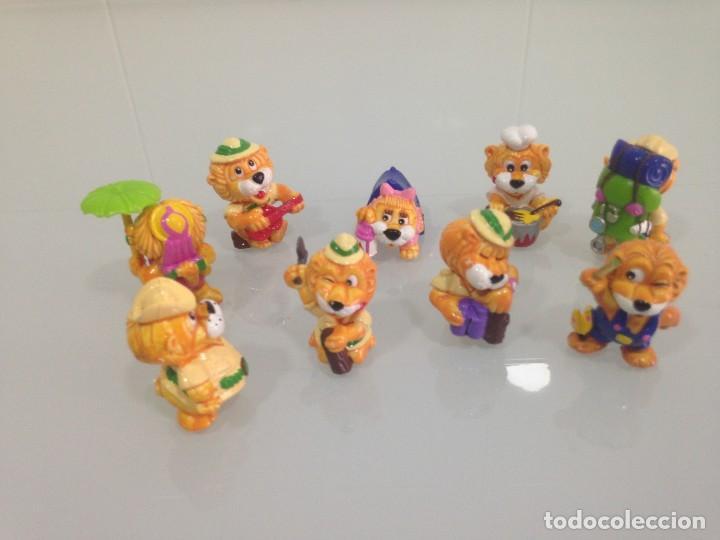 Figuras Kinder: KINDER,LEONES , 9 FIGURAS - Foto 2 - 125749687