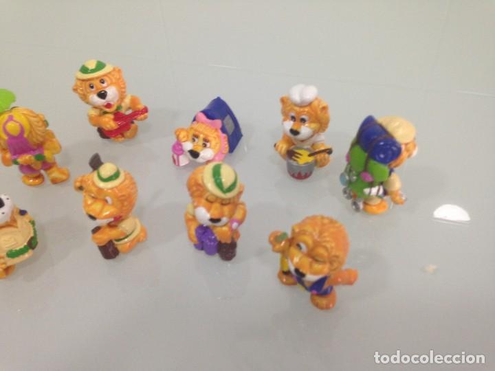 Figuras Kinder: KINDER,LEONES , 9 FIGURAS - Foto 3 - 125749687