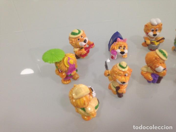 Figuras Kinder: KINDER,LEONES , 9 FIGURAS - Foto 4 - 125749687