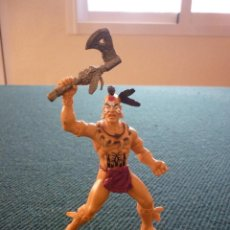 Figuras de Goma y PVC: FIGURA GUERRERO INDIO. CHAP MEI. Lote 125841335