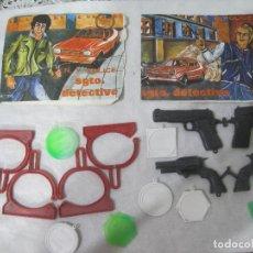 Figuras de Goma y PVC: MONTAPLEX-LOTE DE SARGENTO DETECTIVE -NUMERO 227Y 228-SOBRES ABIERTO. Lote 125859195