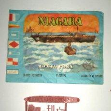 Figuras de Goma y PVC: SOBRE MONTAPLEX Nº 439 NIAGARA - VACÍO + COLADA DEL BARCO NIAGARA. Lote 125893971