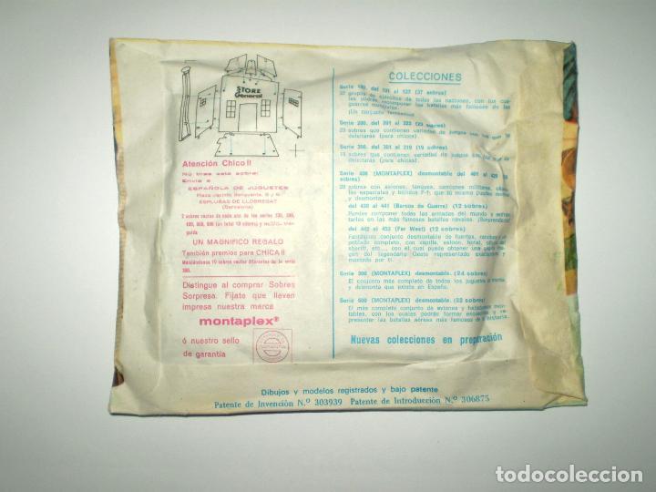Figuras de Goma y PVC: SOBRE MONTAPLEX Nº 455 POBLADOS DEL OESTE ALMACÉN - SOBRE CERRADO - Foto 2 - 222662365