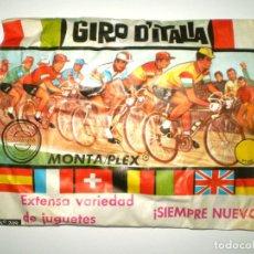 Figuras de Goma y PVC - SOBRE MONTAPLEX Nº 209 GIRO DE ITALIA - SOBRE CERRADO - 134603497