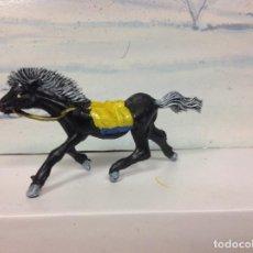 Figuras de Goma y PVC: FIGURA CABALLO PECH HERMANOS SERIE 50 MM JECSAN TEIXIDO OESTE WESTERN INDIO . Lote 126213715
