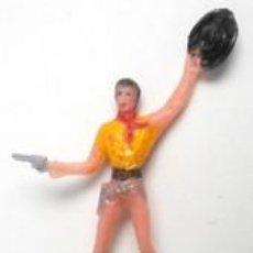 Figuras de Goma y PVC: VAQUERO DEL OESTE AMERICANO, DE COMANSI. Lote 126239259