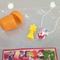 Figuras Kinder: KINDER,1 FIGURA, MUÑECO ADORNO NAVIDEÑO. Lote 126295419