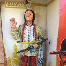 Figuras de Goma y PVC: COMANSI THE WILD WEST FIGURA EN SU BLISTER. Lote 126308432