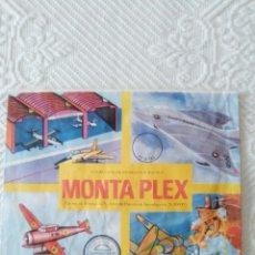 Figuras de Goma y PVC: SOBRE AVIONES MONTAPLEX. Lote 125940887