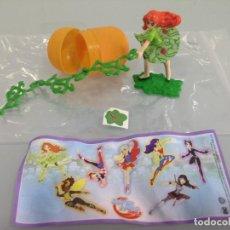 Figuras Kinder: KINDER, 1 FIGURA, HIDRA VENENOSA, DC SUPER HERO GIRLS. Lote 126420631