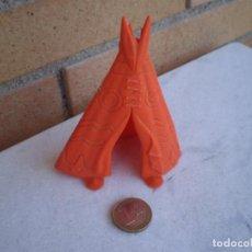 Figuras de Goma y PVC: TIPI INDIO. Lote 126469843
