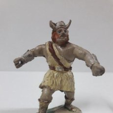 Figuras de Goma y PVC: VIKINGO . SERIE EL CAPITAN TUENO . REALIZADA POR JIN . AÑOS 50 EN GOMA. Lote 126484367