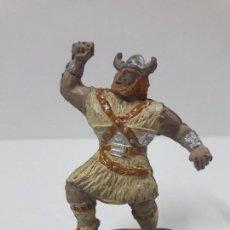 Figuras de Goma y PVC: VIKINGO . SERIE EL CAPITAN TUENO . REALIZADA POR JIN . AÑOS 50 EN GOMA. Lote 126484551