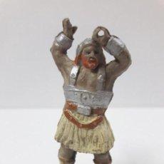 Figuras de Goma y PVC: VIKINGO . SERIE EL CAPITAN TUENO . REALIZADA POR JIN . AÑOS 50 EN GOMA. Lote 126484631