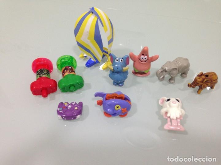 KINDER, LOTE DE 10 FIGURAS KINDER (Juguetes - Figuras de Gomas y Pvc - Kinder)