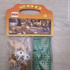 Figuras de Goma y PVC: BOLSA COMANSI - NOVOLINEA AÑOS 90 CERRADA ANIMALES CON VALLAS.. Lote 231395415