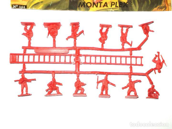Figuras de Goma y PVC: MONTAPLEX SOBRE Nª 144 YUGOSLAVIA VACÍO + 1 COLADA DE SOLDADOS YUGOSLAVOS - Foto 3 - 126567507