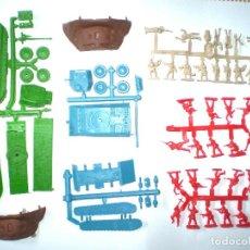 Figuras de Goma y PVC: MONTAPLEX LOTE SEGUNDA GUERRA MUNDIAL - EL ALAMEIN. Lote 126568143
