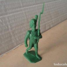 Figuras de Goma y PVC: FIGURA DE PLÁSTICO SOLDADO NAPOLEÓNICO JECSAN. Lote 126658291