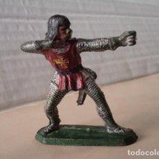 Figuras de Goma y PVC: FIGURA DE PLÁSTICO CABALLERO DEL CID MOYÁ. Lote 126658651