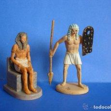 Figuras de Goma y PVC: FIGURAS ANTIGUO EGIPTO ATLANTIC 6CM. Lote 177208679