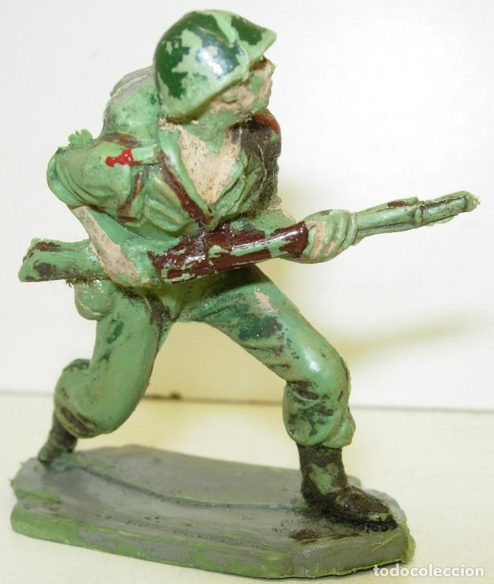 FIGURA SOLDADO AMERICANO MARINE JECSAN (Juguetes - Figuras de Goma y Pvc - Jecsan)