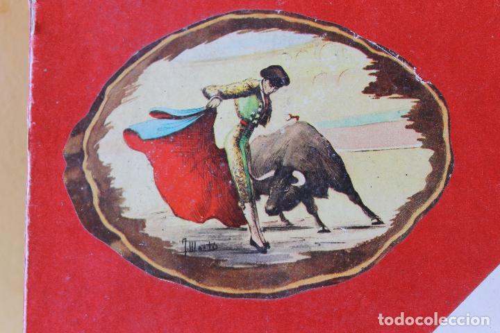 Figuras de Goma y PVC: CAJA PLAZA DE TOROS TEIXIDO, AÑOS 50. CON 10 FIGURAS ARTICULADAS. - Foto 6 - 126717427