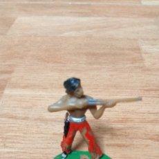 Figuras de Goma y PVC: INDIO FUERTE COMANSI. Lote 126722451