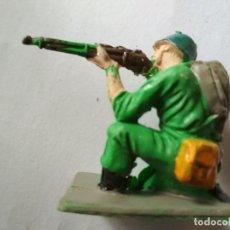 Figuras de Goma y PVC: FIGURA SOLDADO AMERICANO PECH. Lote 126735759