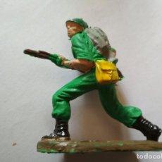 Figuras de Goma y PVC: FIGURA SOLDADO AMERICANO PECH AÑOS 60. Lote 126735879