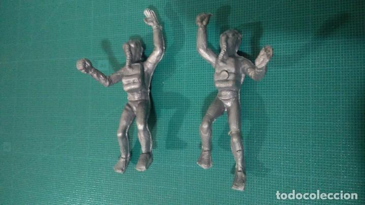JECSAN HOMBRES RANA ORIGINALES AÑOS 70 (Juguetes - Figuras de Goma y Pvc - Jecsan)