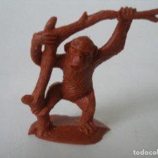 Figuras de Goma y PVC: MONO EN ÁRBOL ( 5 CM ) LUTIN . Lote 126860219