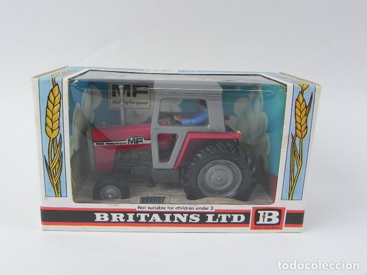 ANTIGUA CAJA CON TRACTOR DE BRITAINS LTD 1976, REF. 9522, NUEVO A ESTRENAR. (Juguetes - Figuras de Goma y Pvc - Britains)