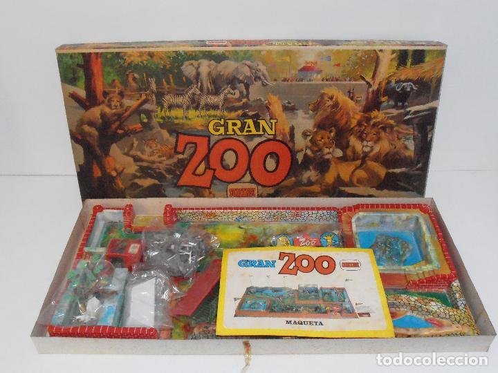 Figuras de Goma y PVC: ESPECTACULAR GRAN ZOO DE COMANSI, NUEVO A ESTRENAR, PIEZAS Y ANIMALES EN BOLSA SIN JUGAR - Foto 2 - 127227079