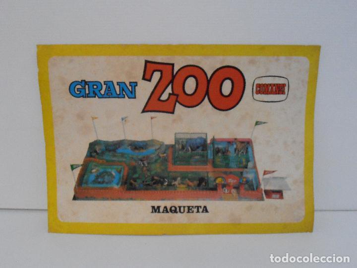 Figuras de Goma y PVC: ESPECTACULAR GRAN ZOO DE COMANSI, NUEVO A ESTRENAR, PIEZAS Y ANIMALES EN BOLSA SIN JUGAR - Foto 4 - 127227079