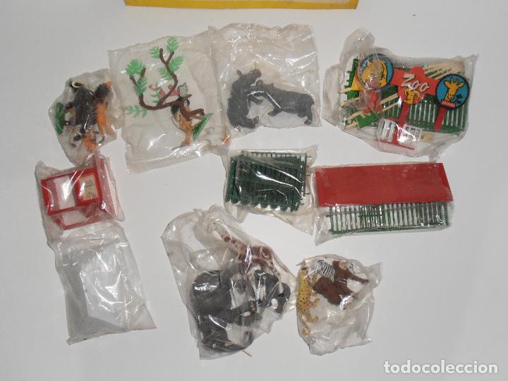 Figuras de Goma y PVC: ESPECTACULAR GRAN ZOO DE COMANSI, NUEVO A ESTRENAR, PIEZAS Y ANIMALES EN BOLSA SIN JUGAR - Foto 6 - 127227079